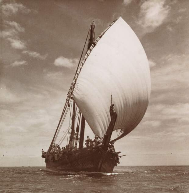 Мореплавание у восточного побережья Африки в конце 19 века