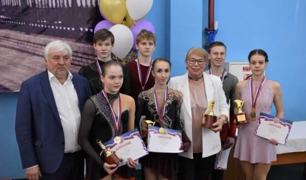 Оренбуржцы завоевали 4 медали на Всероссийских соревнованиях по фигурному катанию
