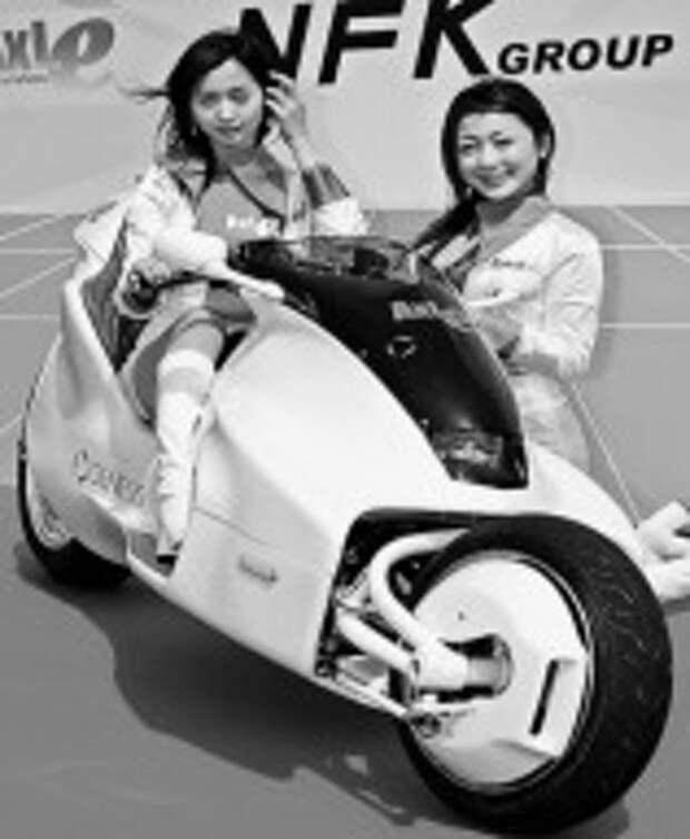 Мотоцикл на магнитах