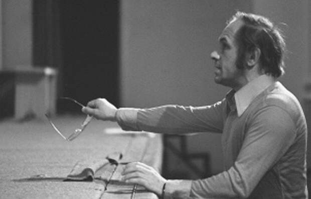 Лев Дуров, 1977 год.