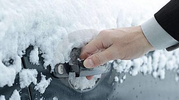 10 способов открыть замерзший замок автомобиля