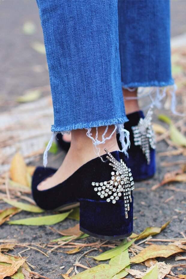 Нарядные туфли своими руками