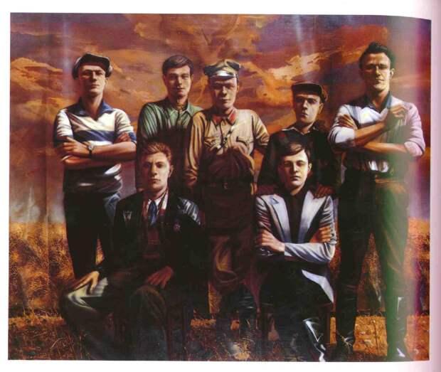 The Men of One Family, 1941 Sergi Sherstiuk, 1985