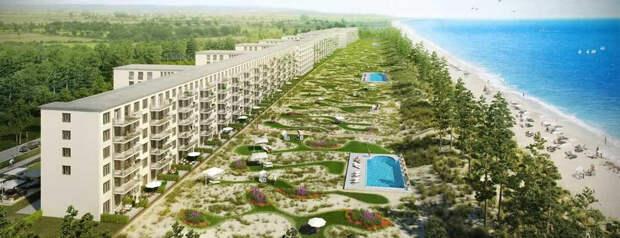 Немецкая компания превратила гигантскую нацистскую турбазу в 5-звёздный курорт