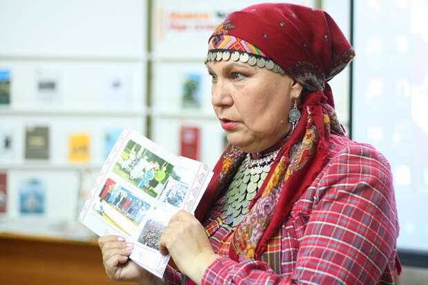В Удмуртии презентовали книгу-историю о «Бабушках из Бураново»