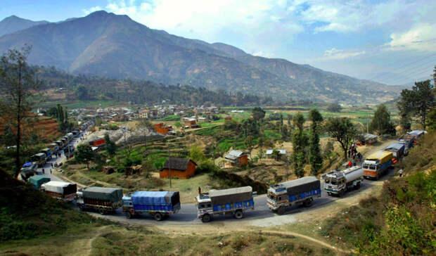 Шоссе Притхви, Непал дорога, путешествие, трасса