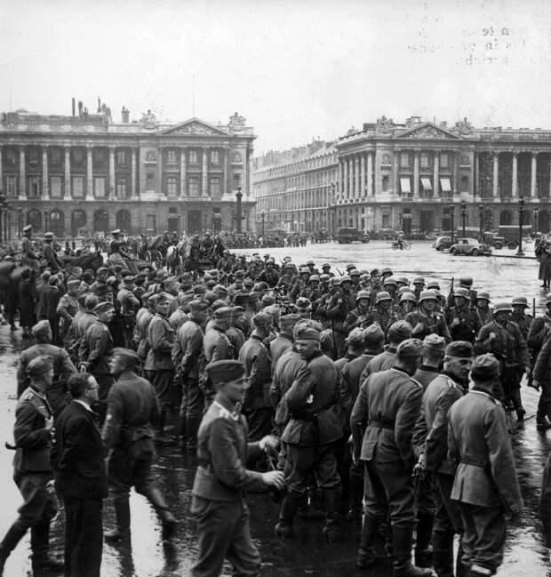 Падение Франции. Позорная капитуляция. (125 фото)