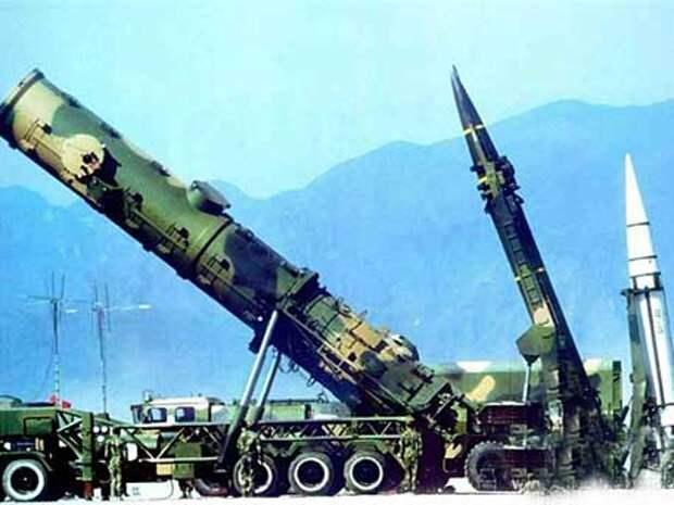Китайские ракеты испугали Вашингтон: Поднебесная показала ядерные зубы