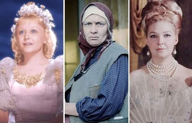 9 советских актрис, сыгравших в кино героинь намного моложе или старше себя