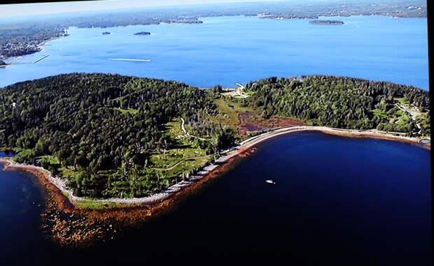 Тайна острова Оук