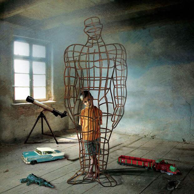 Парадоксы современной действительности глазами польского иллюстратора