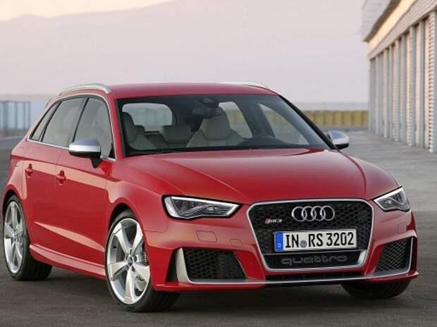 Новый Audi RS3 Sportback оказался сильнее сильного