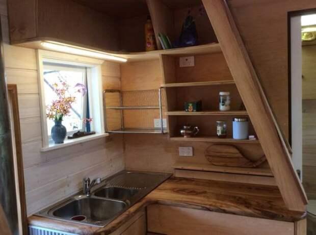 дом на колесах кухня: Дом на колесах
