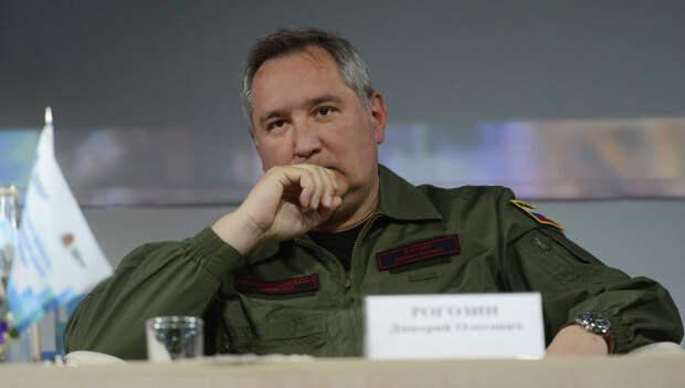 Заместитель председателя правительства РФ Дмитрий Рогозин. Архивное фото.