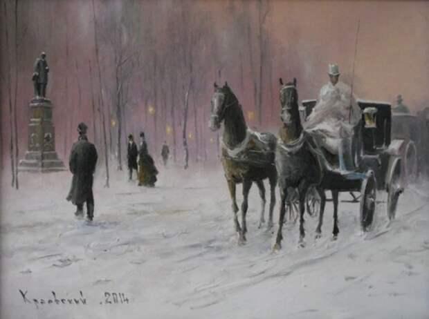 художник Владимир Краевский картины – 07