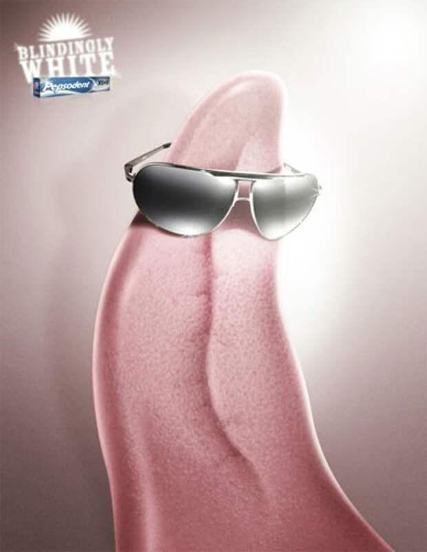 Pepsodent: Держи язык за очками!