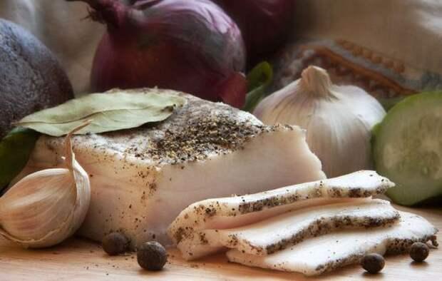 Сало с чесноком – демократичное блюдо на любой вкус. Коллекция рецептов сала с чесноком для гурманов