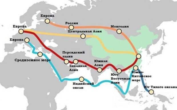 США остались в аутсайдерах торговли: «Шелковый путь» спас Россию, КНР и Европу от пандемии