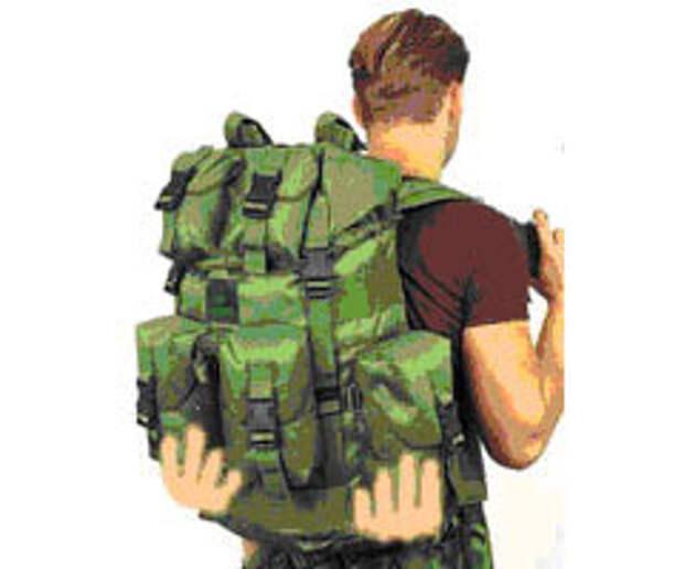 Носите рюкзак как носитель рекламы