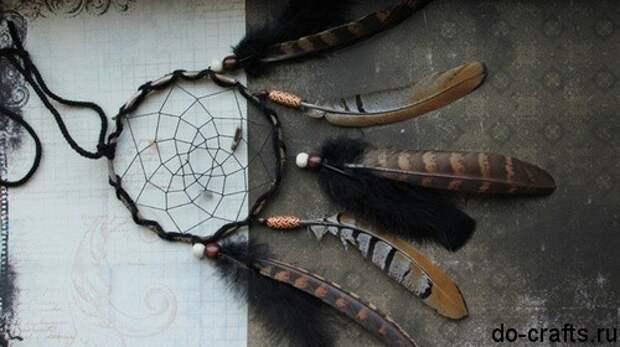 Как сделать ловец снов своими руками главная