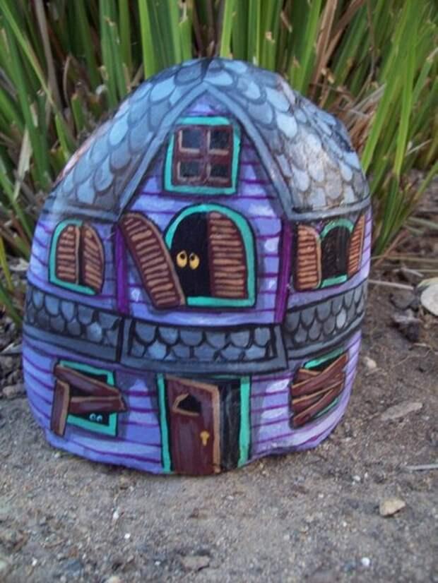 домики из камней 5