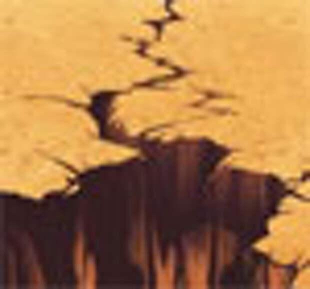 Открыта тайна образования земных трещин