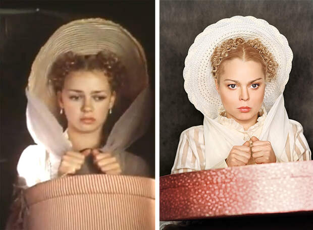 """Фотопробы современных """"звёзд"""" на роли в культовые советские фильмы"""