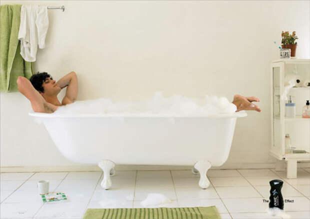 Axe: гель не только для ванны