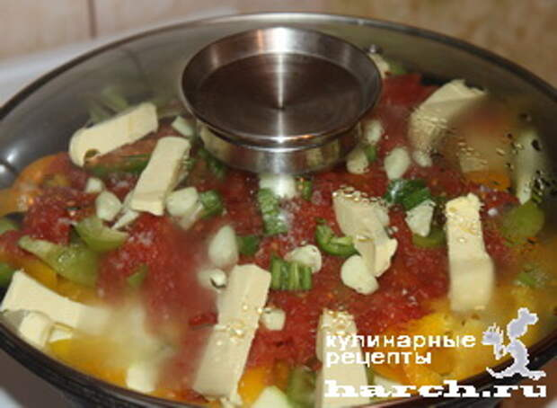 ragu is govyadini s kabachkami i baklaganami 14 Рагу из говядины с кабачками и баклажанами