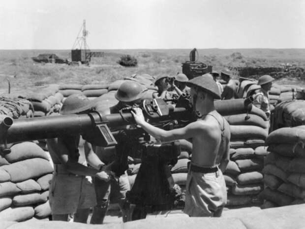 Позиция 102-й австралийской тяжёлой зенитной батареи в заливе Эксмут, 1943 год. awm.gov.au - «Неистовые орлы» в стране кенгуру | Warspot.ru