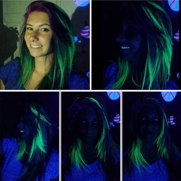 11.  вечеринка, волосы, краска для волос