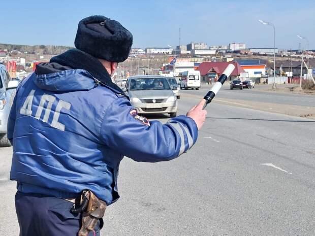 На въездах и выездах в Удмуртию начали работать полицейские КПП