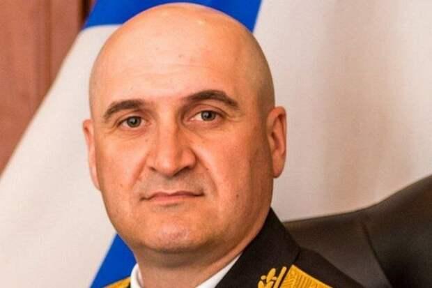 Вице-адмирал Игорь Осипов, командующий Черноморским флотом Российской Федерации. Источник изображения: https://vk.com/denis_siniy