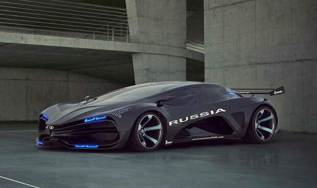 АВТОМАШ. Взгляд хищника — это новая Lada!
