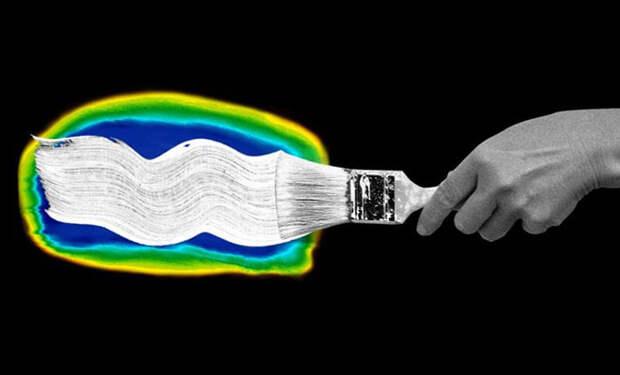 Исследователи представили «самую белую краску в мире». Она отражает 98% солнечного света