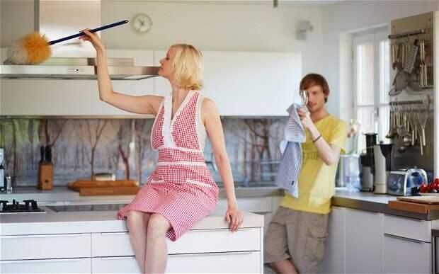 Чистое удовольствие: женщины, которые предпочитают уборку сексу