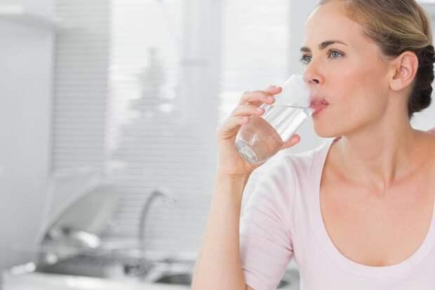 Пейте воду поутру - будете здоровы
