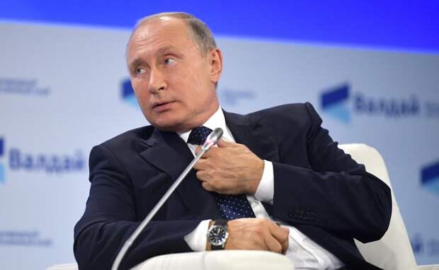 Владимир Путин занял 4 строчку в рейтинге доверия жителей развитых стран