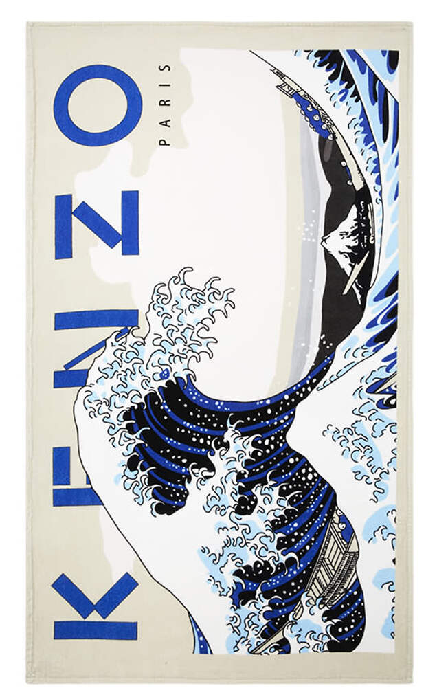 Kenzo by YD пляжное полотенце Wave1 (1)