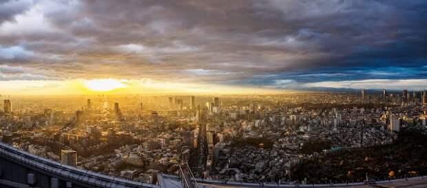 Роскошные панорамы Токио