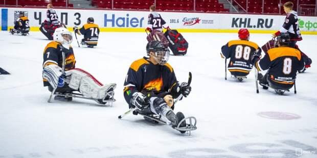 Турнир по следж-хоккею пройдет в СЗАО