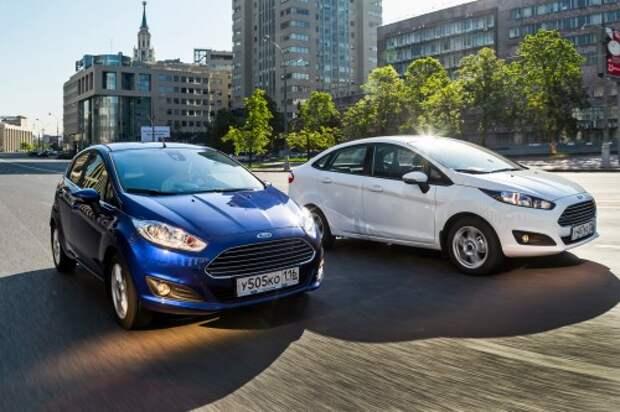 Седан и хэтчбек Ford Fiesta российской сборки. Производство Ford Sollers, Набережные Челны