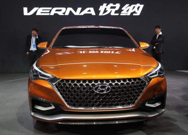Каким может стать новый Hyundai Solaris