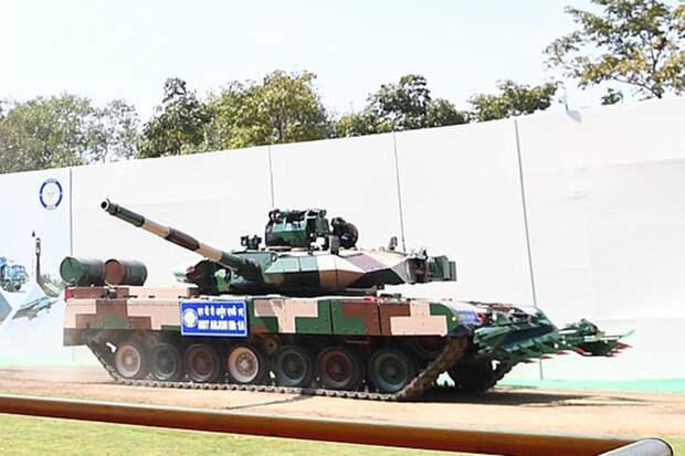 Индийская армия заказала более 100 танков-тяжеловесов Arjun Mk-1A