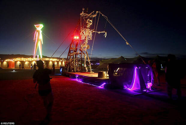 Фестиваль Burning Man 2015 в подробностях