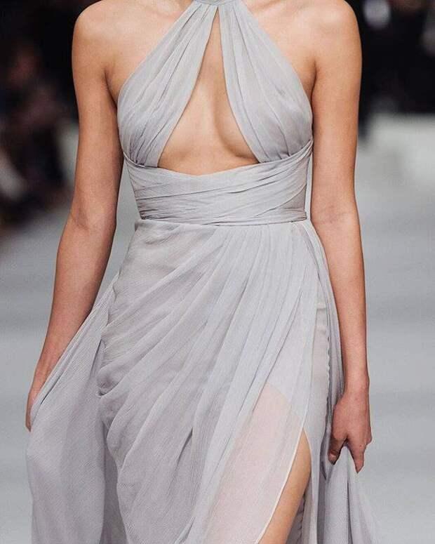 История создания одного из платьев Paolo Sebastian