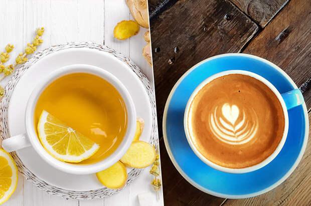 Плюсы и минусы кофе и чая