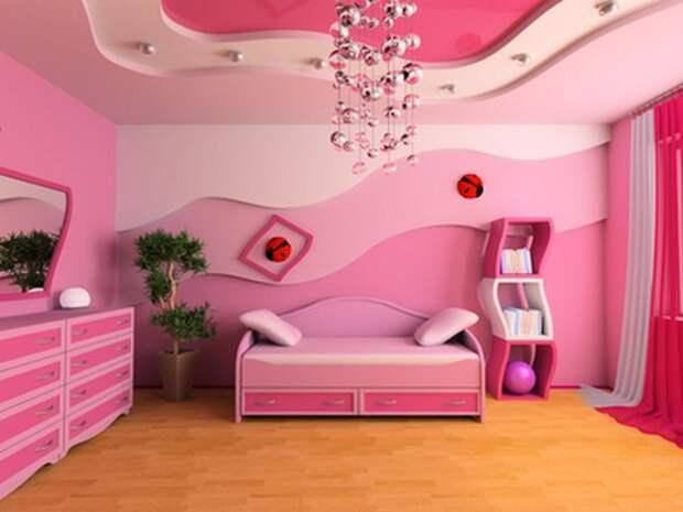 Жизнь в розовом цвете. Как использовать розовый в интерьере?