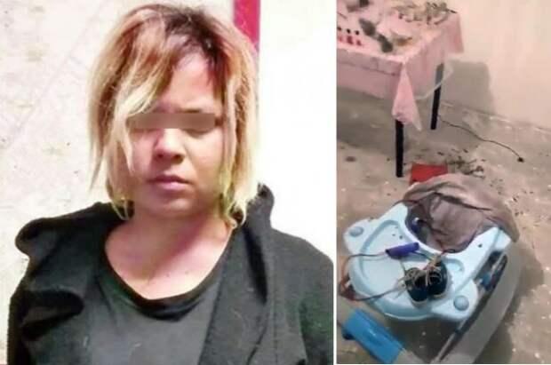 Женщина назвала своего сына Вельзевулом, а спустя 8 месяцев принесла его в жертву