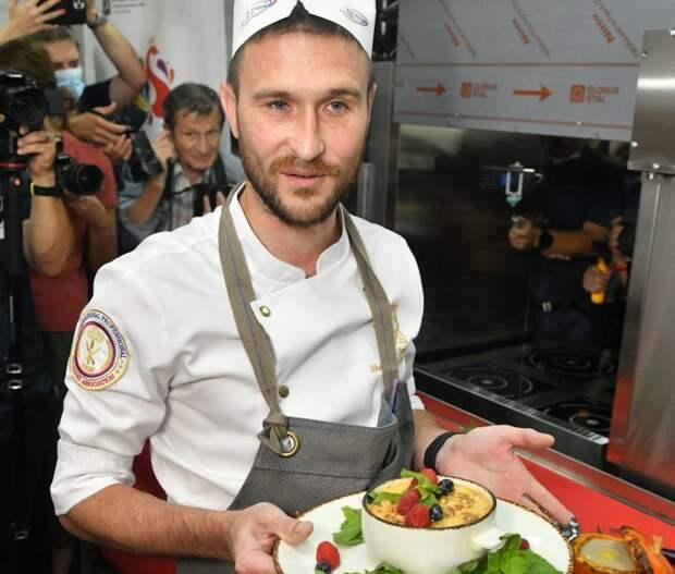 В международном конкурсе кашеваров принял участие повар из Марьина